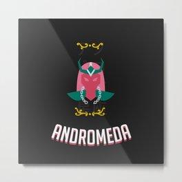 The Saint of the Dark Andromeda Metal Print