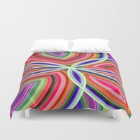 starfish Duvet Covers featuring Starfish by Designs By Misty Blue (Misty Lemons)