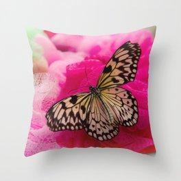 Butterfly Life Throw Pillow