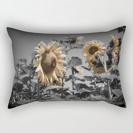 Sunflowers On My Mind Rectangular Pillow