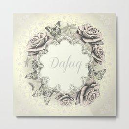 Dafuq Metal Print