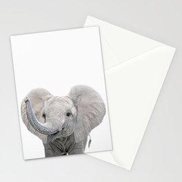 Elephant Calf Art Stationery Cards