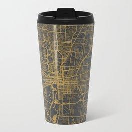 Columbus map Travel Mug