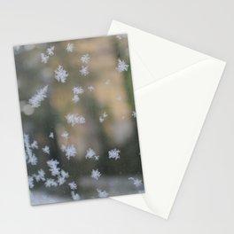 "It's frosty ""Ice Flower"" #2 #art #society6 Stationery Cards"