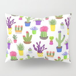 The Potted Cactus Pillow Sham