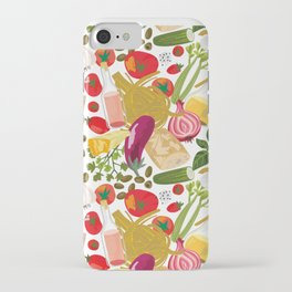 Fresh Italian Market Food iPhone Case
