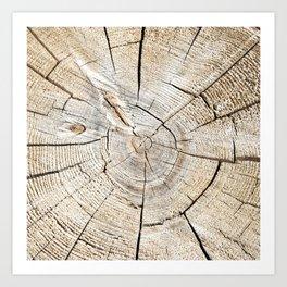 Wood Cut Art Print