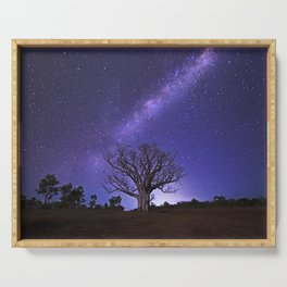 Milky Way over the Boab Serving Tray