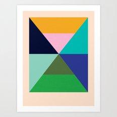 Dhurrie Ocean 2 — Matthew Korbel-Bowers Art Print