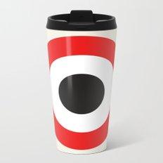 Bullseye Metal Travel Mug