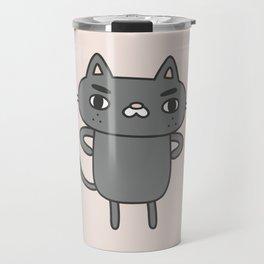 Cranky Cat Travel Mug