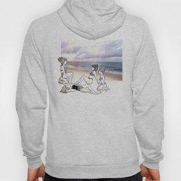 Girlfriends at the Beach Hoody