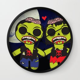 Undying Love Wall Clock