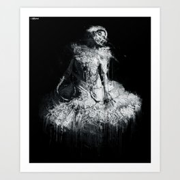 the flowable able Art Print