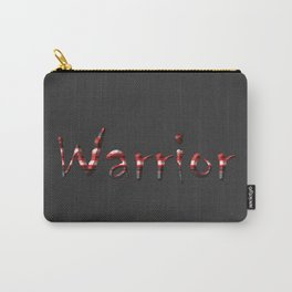 Warrior red 6 Carry-All Pouch