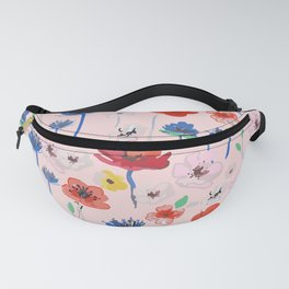 Expressive Blooms 3 Fanny Pack