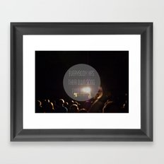 Song Framed Art Print
