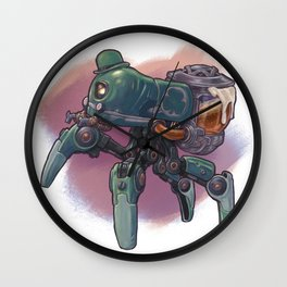 Saint Patri-Bot T-Shirt Wall Clock
