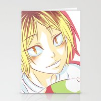 haikyuu Stationery Cards featuring Kenma Haikyuu!! by SpigaRose