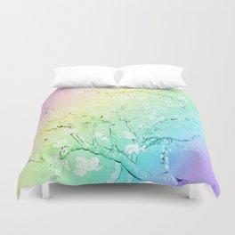 Van Gogh Almond Blossoms : Pastel Rainbows Duvet Cover
