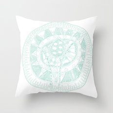 Moroccon Lake Throw Pillow