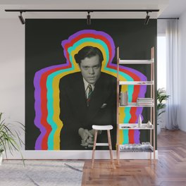 Orson Welles tie days Wall Mural