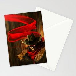 Skull Cowboy Stationery Cards