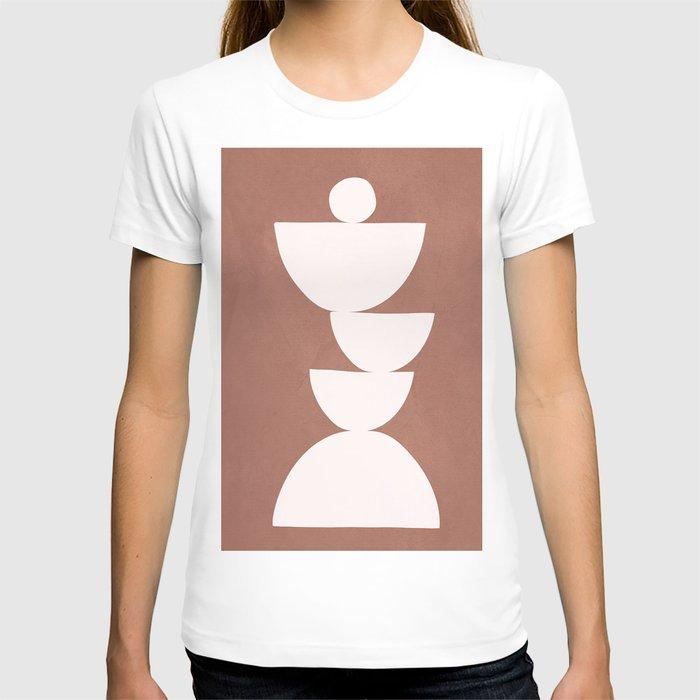 Abstract Balancing Shapes I T-shirt