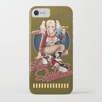harley quinn iPhone & iPod Cases featuring Harley Quinn by Reducto