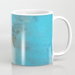 Earth. Texture. Blue. Jodilynpaintings. Brown. Abstract. Earths Crust. Coffee Mug