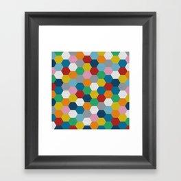 Honeycomb 3 Framed Art Print