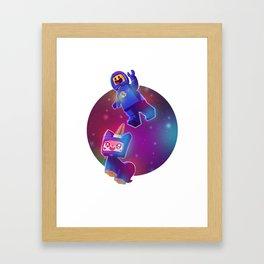 Benny & Unikitty Framed Art Print