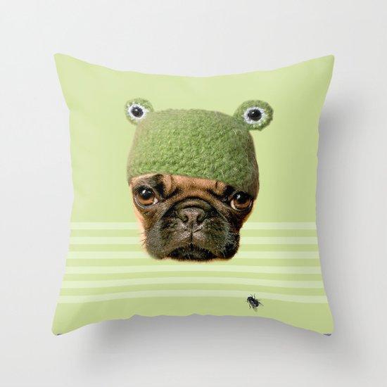 Frug Throw Pillow