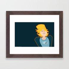 C . H . U . C . K Framed Art Print