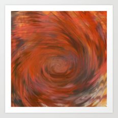 Fragment 17: Warmth of Withheld Vengance Art Print