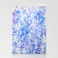 splatter Stationery Cards featuring splatter by From Roxy