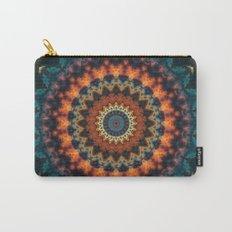 Fundamental Spiral Mandala Carry-All Pouch