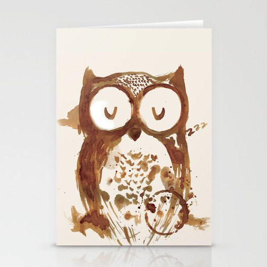 Too Early Bird Stationery Cards