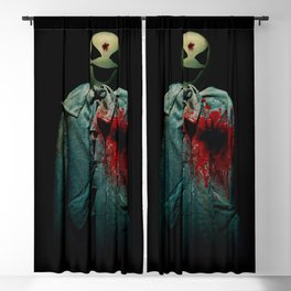 Fifth Avenue Halloween Ghost. Blackout Curtain