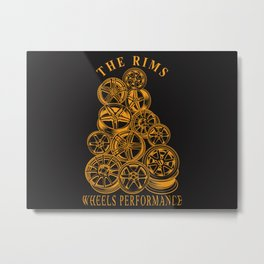 The Rims Metal Print