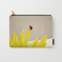 red ladybug Carry-All Pouch