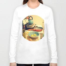 Sunday Morning Breakfast Long Sleeve T-shirt