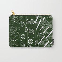Japanese kimono art  Carry-All Pouch