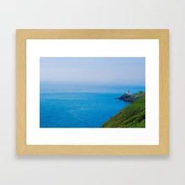 Cliffs of Howth Framed Art Print