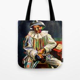Pablo Picasso Pierrot Tote Bag