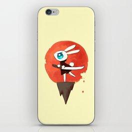 Samurai Bunny iPhone Skin