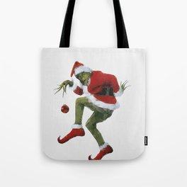 Christmas Grinch Tote Bag