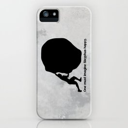 Camus - Sisyphus iPhone Case