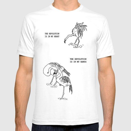 Revolutionary Flamingos T-shirt