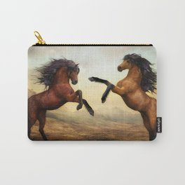 The Dueling Stallions Carry-All Pouch